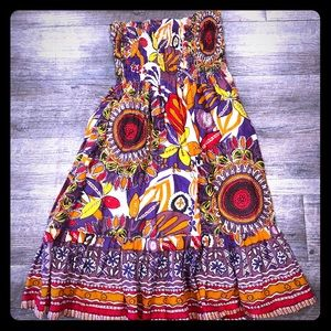 Fun and colorful summer dress